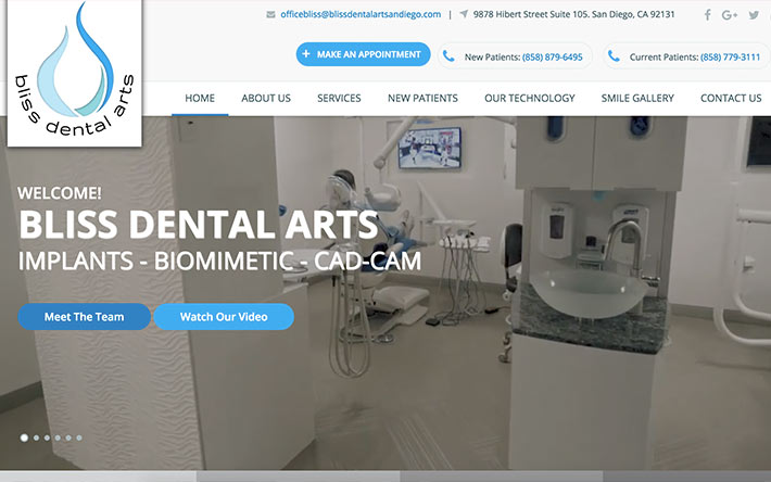 Bliss Dental Arts San Diego